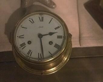 German Schatz Mariner Brass Clock