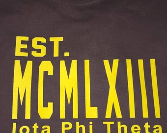 Iota MCMLXIII Shirt