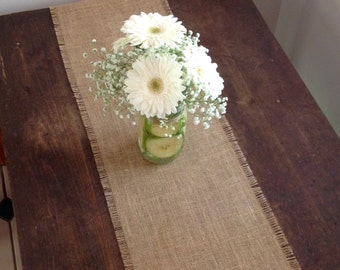 Burlap Table Runner Rustic Burlap Table Runner by sweet janes plan
