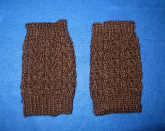 Dark Brown Boot Cuffs