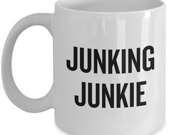 Junking Coffee Mug - Junking Junkie - Vintage, Thrifting, Flea Market, Antiquing
