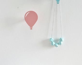 Balloon Wall Hooks, Balloon Wall Hanging, Baby Shower Gift, Nursery Wall hook, Modern Wall hook for Kids