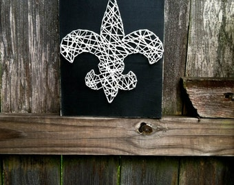 Fleur De Lis, Fleur De Lis Decor, Fleur De Lis Sign, Louisiana Art, Louisiana Gift, New Orleans Sign, New Orleans Art, NoLa Art, NoLa Gift