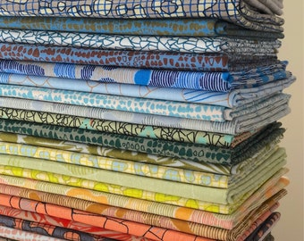 Gleaned Fat Quarter Bundle of 24 by Carolyn Friedlander for Robert Kaufman