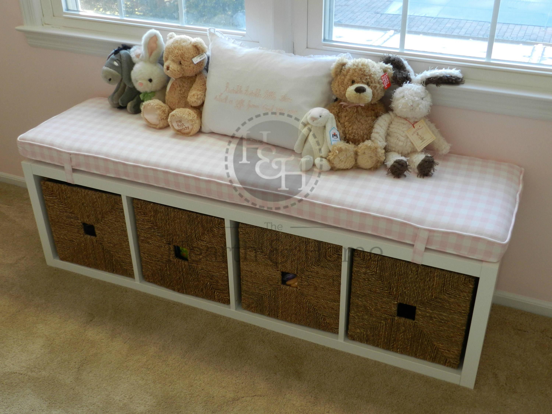 Ikea Kallax Custom Cushion For Nursery Playroom # Muebles Customizados De Ikea