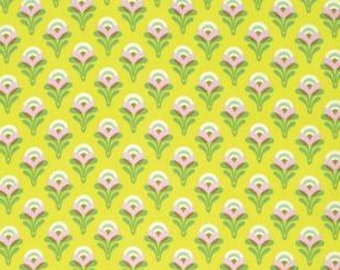 Heather Bailey Clementine 'Buttercup' in Lemon Cotton Fabric