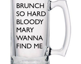 Large Bloody Mary Mug