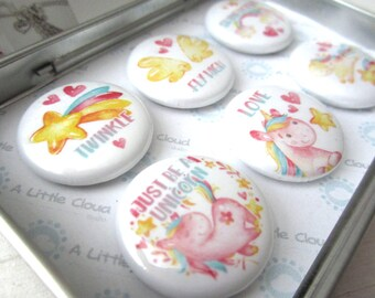 Unicorn Magnet Gift Set, Unicorn lover, Magical and whimsical