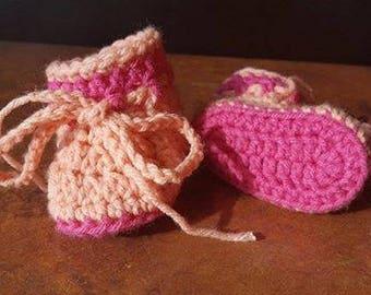 Crochet Baby Booties - Choose Your Colors