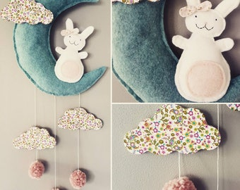 Mobile wall decorative Bunny