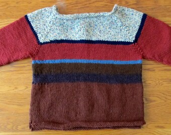Hand Knit Toddler Sweater