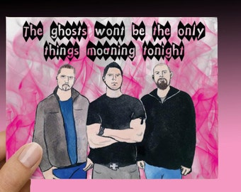 Ghost Adventures Funny Love Card