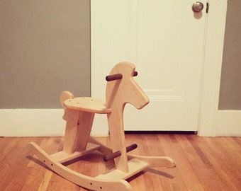 Rocking Horse Digital Woodworking Plans
