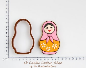 Matryoskha Cookie Cutter (Russian doll)