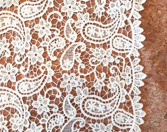 Cotton Lace White