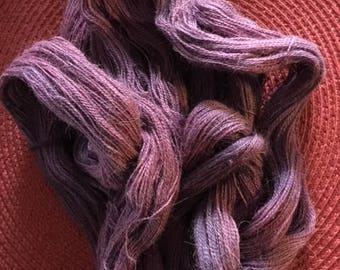 Amethyst, Highlighted Alpaca Lace