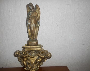 very old religious statue