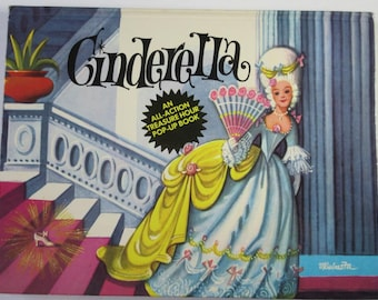 Cinderella, An All-Action Treasure Hour Pop-Up Book, 1982