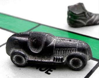 3 classic vintage Monopoly game pieces