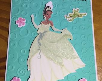Tatiana Birthday card