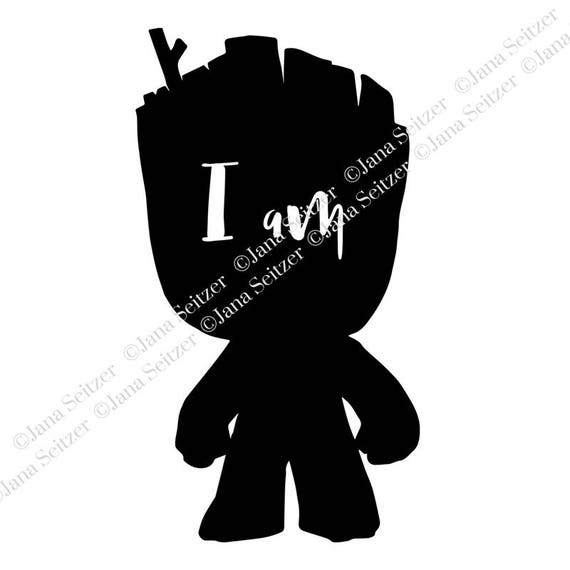 Baby Groot I Am Groot Svg File For Cricut And