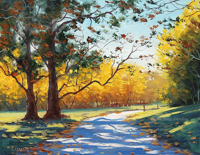 Printable paintings wall art prints from my Original Oil