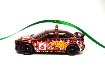 Great Mitsubishi Lancer Evolution EVO Sports Car Hot Wheels Ornament
