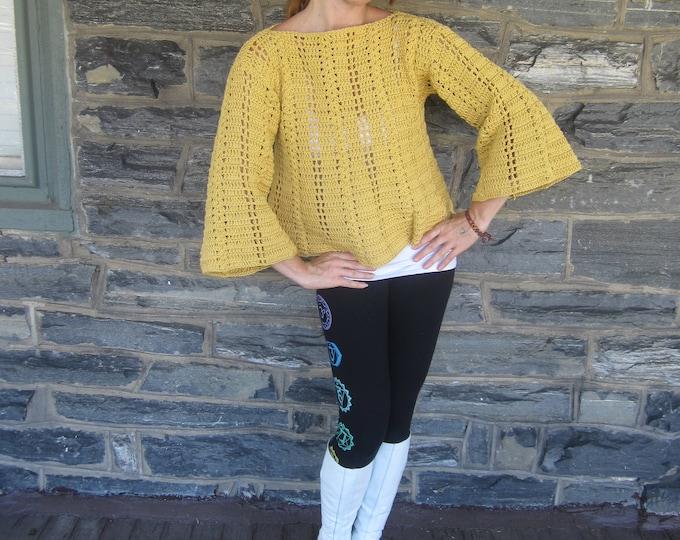 CROCHET SWEATER, Boho sweater, Womens sweater, Hippie sweater, womens clothing, crochet womens sweater, Gift for women, gift for her, jumper