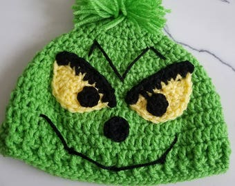 Grinch Hat. **Free shipping