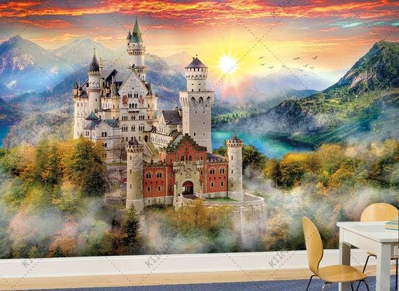 Fairy Tale Castle 2 Fairytale Wallpaper Wall Decor