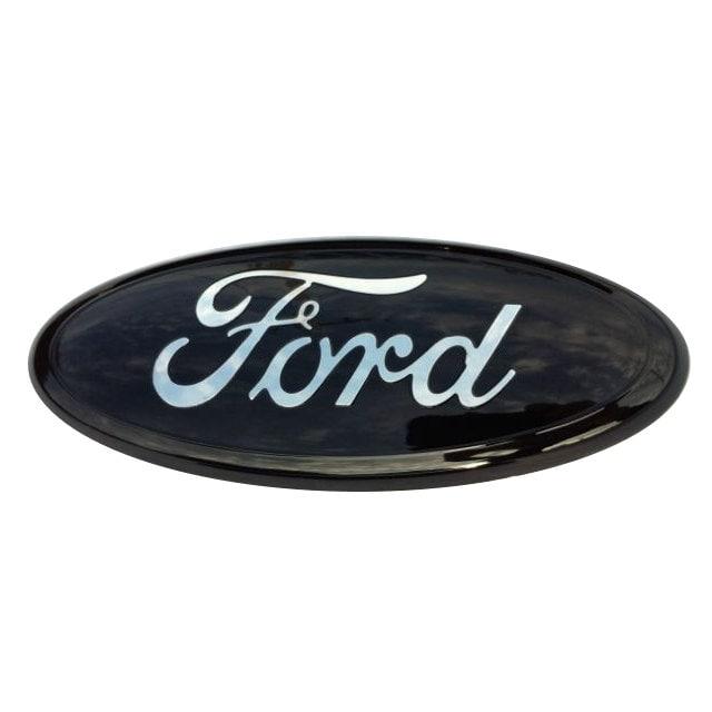 Ford Emblem Black And Chrome Fits F 150 Ranger