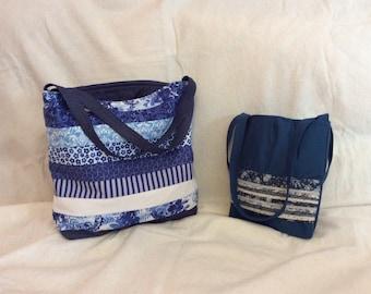 Blue bags