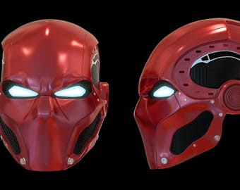 Hybrid Red Hood 3D File ONLY!