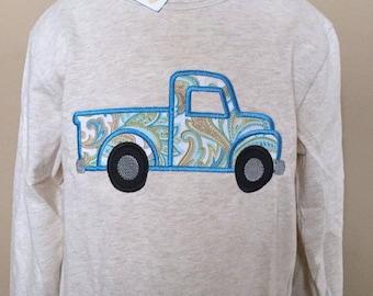 Personalized Truck Shirt