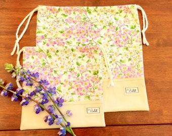 Dogwood Dreams Drawstring Bag Set
