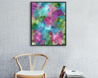 Abstract Watercolor, Abstract Art Print, Watercolor Wall Art, 12x16 16x20 18x24 24x32, Watercolor Art Print, Abstract Wall Art, Gallery Wall