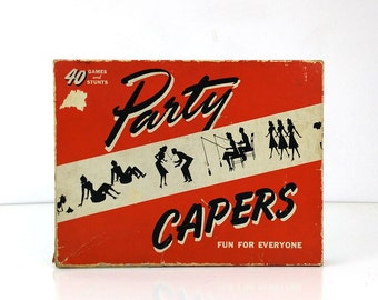 Party Capers - a selection of Vintage Party Games