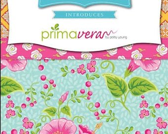 Riley Blake Primavera | Patty Young | Quilt Fabric | Precuts | Fabric Bundle | Charm Pack | Yardage | Quilting