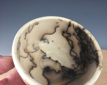 Horse Hair Pottery, Porcelain, Cup