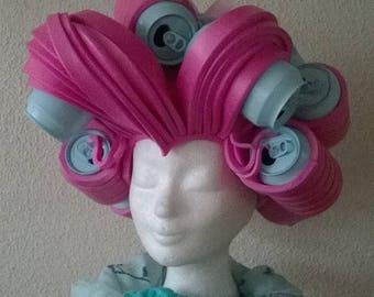 Lady Gaga cans headdress/ FoamWig/halloween/party/cosplay/wig