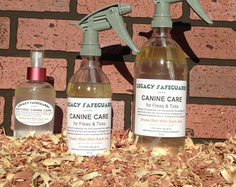 Natural Canine Flea & Tick Repellent Made with Pure Essential Oils