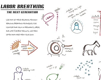 Breathing and Relaxation for Labor and Birth- Natural Birth, Calm, Doula Bag