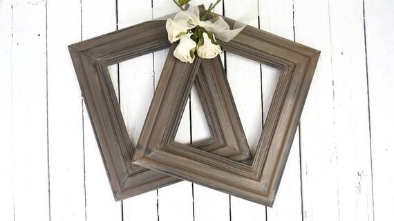 French Cottage Frames, Vintage Frames, Rustic Frames, Cocoa Brown ...