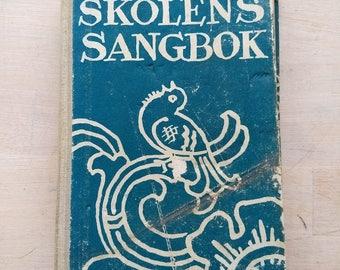 Norwegian school songbook 1953