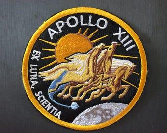 Patch Apollo XIII - Mars - Moon - Space Program - Ex Luna Scentia - NASA - ESA