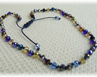 Multicolored Sparkly Necklace