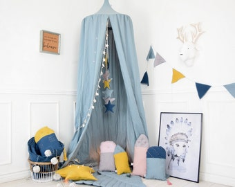 Play Canopy, Baldachin, Nursery Canopy, Hanging Play Tent, Crib canopy, Children's Canopy, Bed Canopy, Reading Nook, Hanging Teepee, Tent