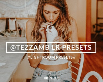 BLOGGER @tezzamb inspired LIGHTROOM PRESETS / blogger filters /