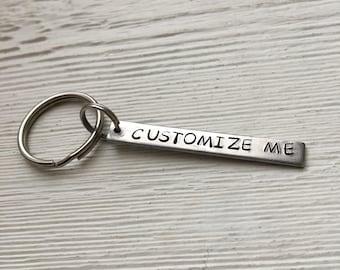 Customize Me keychain, personalize