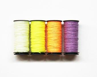 Kreinik #16 Braid 4.00 Each, Kreinik Metallic Braid Sale, Needlework Thread, Threads, Glow Thread Needlework Supplies, Glow In The Dark